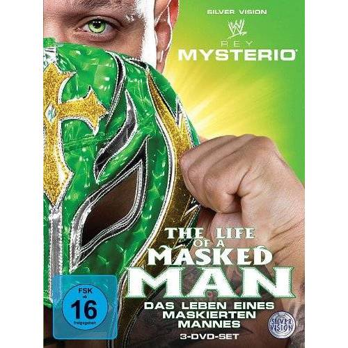 Rey Mysterio - Rey Mysterio: Das Leben eines maskierten Mannes [3 DVDs] - Preis vom 18.04.2021 04:52:10 h