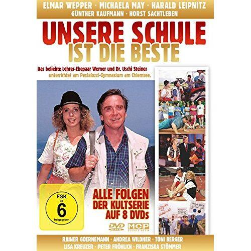 Harald Leipnitz - Unsere Schule ist die Beste - alle Folgen der Serie (1-16) auf 8 DVDs - Preis vom 05.05.2021 04:54:13 h