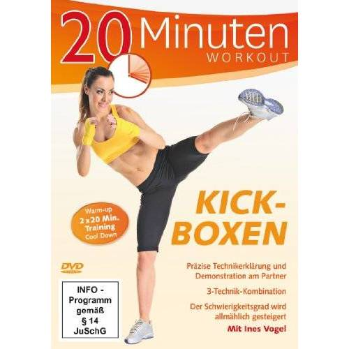Ines Vogel - 20 Minuten Workout - Kickboxen - Preis vom 21.04.2021 04:48:01 h