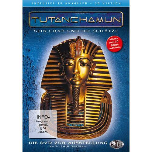 Oliver Krekel - Tutanchamun - Sein Grab und die Schätze 3D ( 2D und 3D anaglyph - inkl. 2 Brillen) - Preis vom 15.05.2021 04:43:31 h