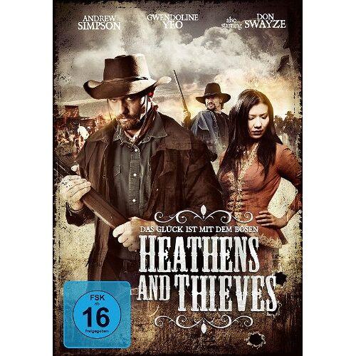 Megan Peterson - Heathens and Thieves - Das Glück ist mit dem Bösen [DVD] - Preis vom 13.05.2021 04:51:36 h