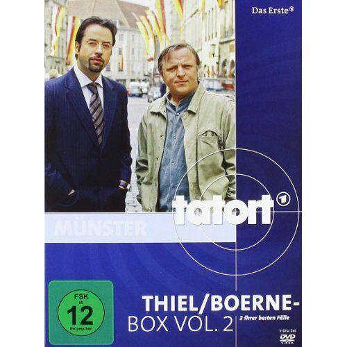 Lars Kraume - Tatort: Thiel/Boerne-Box, Vol. 2 [3 DVDs] - Preis vom 11.04.2021 04:47:53 h