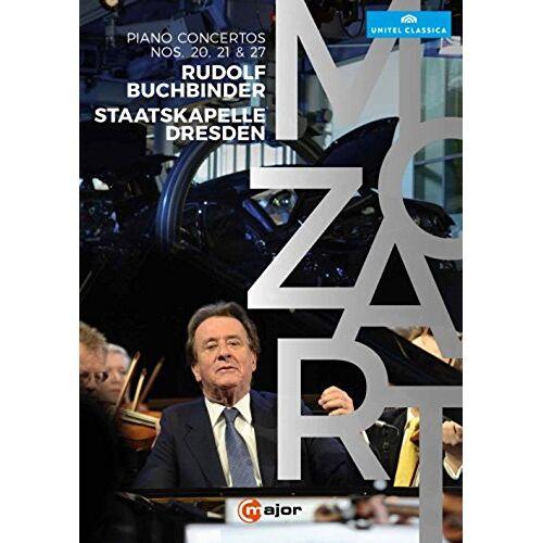Mozart, Wolfgang Amadeus - Mozart: Klavierkonzerte 20, 21 & 27 [DVD] - Preis vom 15.05.2021 04:43:31 h