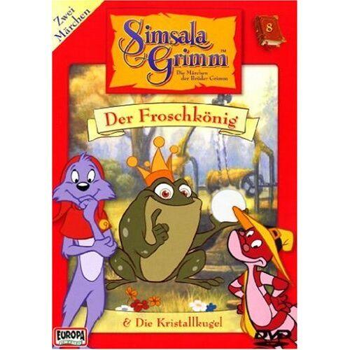 - SimsalaGrimm 08: Der Froschkönig/Die Kristallkugel - Preis vom 28.10.2020 05:53:24 h