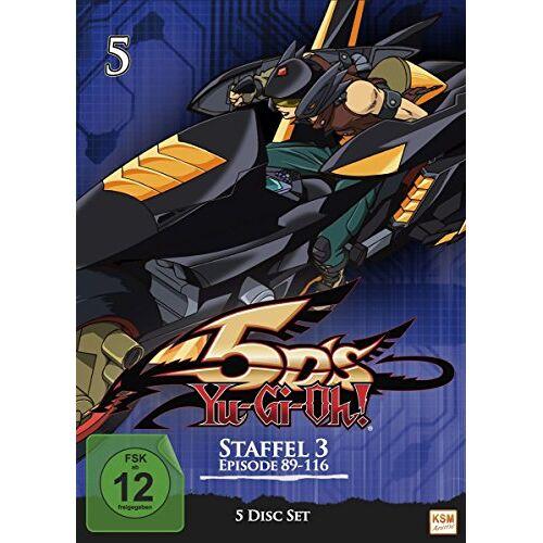 Katsumi Ono - Yu-Gi-Oh! 5D's, Vol. 5 [5 DVDs] - Preis vom 16.01.2021 06:04:45 h