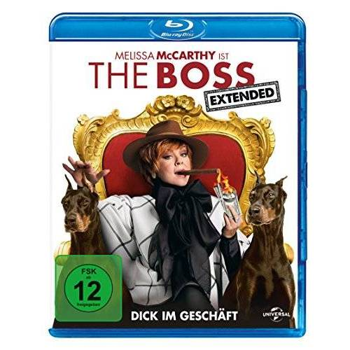 Ben Falcone - The Boss [Blu-ray] - Preis vom 15.04.2021 04:51:42 h