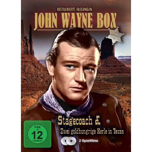 John Wayne - John Wayne Box [2 DVDs] - Preis vom 20.10.2020 04:55:35 h