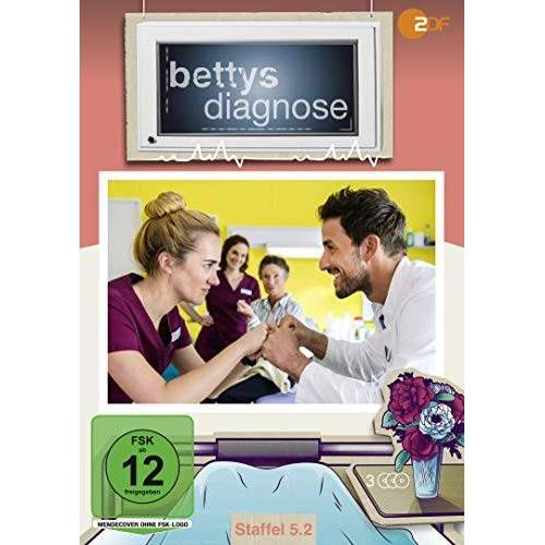 Syhan Derin - Bettys Diagnose - Staffel 5.2 [3 DVDs] - Preis vom 27.10.2020 05:58:10 h