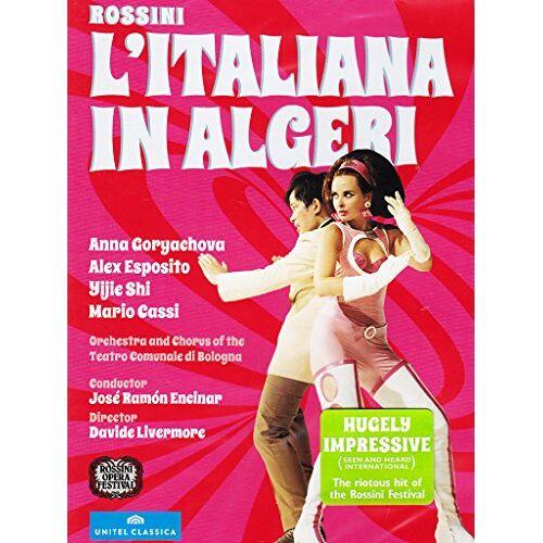 José Ramón Encinar - Rossini: L'Italiana In Algeri [DVD] - Preis vom 17.04.2021 04:51:59 h