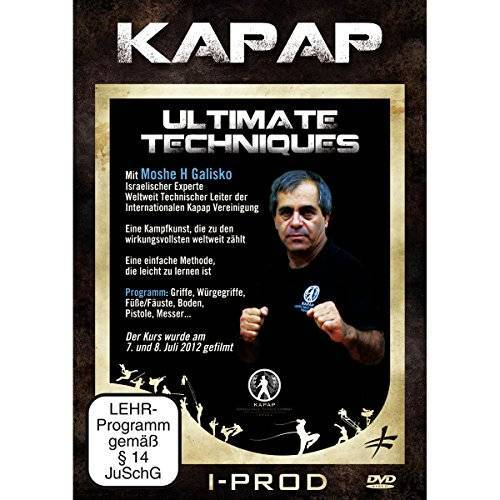 - Kapap - Ultimatve Techniken - Preis vom 07.04.2020 04:55:49 h
