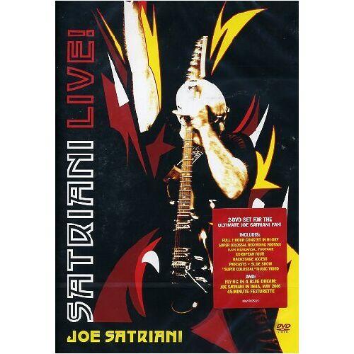 Joe Satriani - Satriani Live! [2 DVDs] - Preis vom 21.10.2020 04:49:09 h