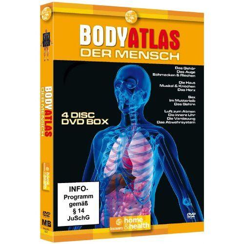 Dokumentation - Bodyatlas Box (4 DVDs) - Preis vom 26.10.2020 05:55:47 h