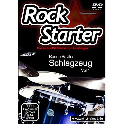 Benno Sattler - Rockstarter, Vol.1 - Schlagzeug - Die brandneue Lehr-DVD-Serie für Einsteiger! - Preis vom 20.10.2020 04:55:35 h