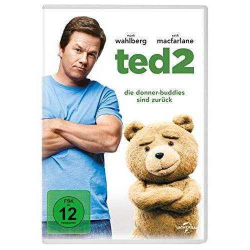 Mark Wahlberg - Ted 2 [2 DVDs] - Preis vom 18.04.2021 04:52:10 h