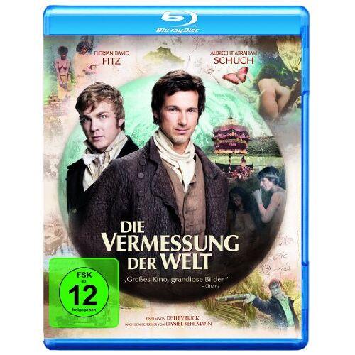 Buck, Detlev W. - Die Vermessung der Welt [Blu-ray] - Preis vom 18.04.2021 04:52:10 h