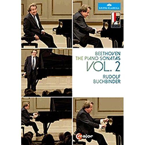 Rudolf Buchbinder - Buchbinder: Beethoven Klaviersonaten Vol. 2 (Salzburger Festspiele 2014) [2 DVDs] - Preis vom 31.03.2020 04:56:10 h