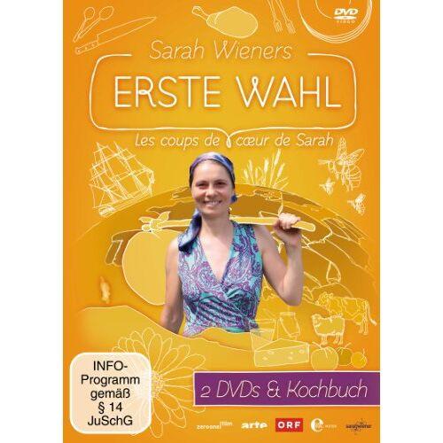 Sarah Wiener - Sarah Wieners erste Wahl (2 Discs, + Kochbuch) - Preis vom 05.09.2020 04:49:05 h