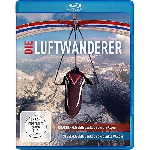 Kretschmar Die Luftwanderer - Lautlos über die Alpen / Lautlos über dunkle Wälder [Blu-ray] - Preis vom 21.02.2020 06:03:45 h
