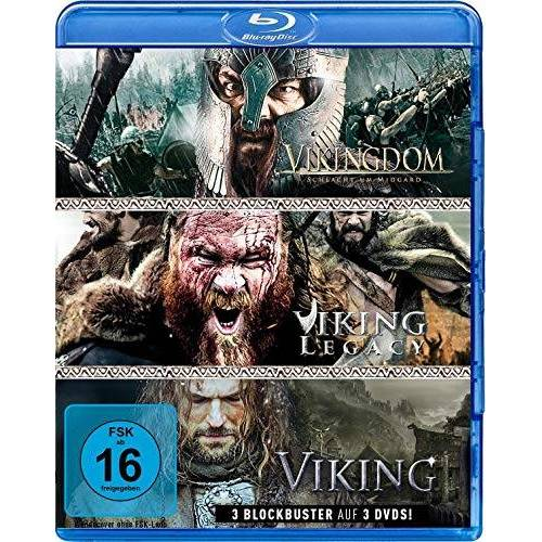 Halim, Yusry Abd - Wikinger-Box: Viking, Vikingdom & Viking Legacy (3 Blu-rays) - Preis vom 23.01.2020 06:02:57 h