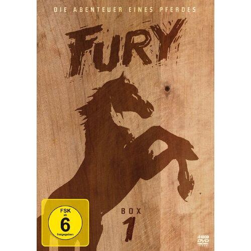 Ray Nazarro - Fury - Box 1 [4 DVDs] - Preis vom 20.10.2020 04:55:35 h