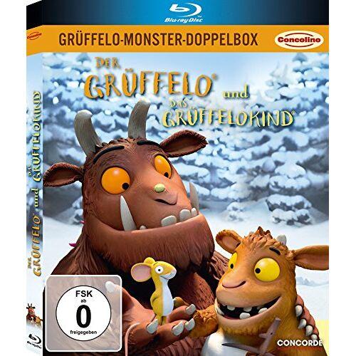 Jakob Schuh - Grüffelo-Monster-Doppelbox: Der Grüffelo / Das Grüffelokind (limitierte Version in O-Card) [2 Discs] [Blu-ray] - Preis vom 10.04.2021 04:53:14 h