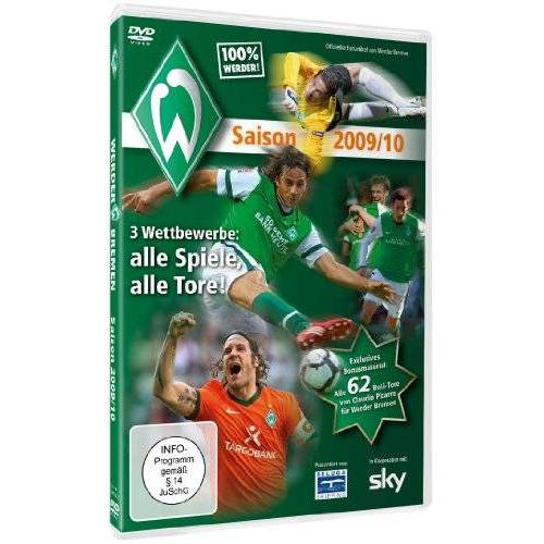 Various - 100% Werder - Werder Bremen Saisonrückblick 2009/2010 - Preis vom 07.05.2021 04:52:30 h