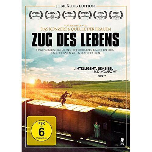 Radu Mihaileanu - Zug des Lebens - Jubiläums Edition [DVD] - Preis vom 18.04.2021 04:52:10 h