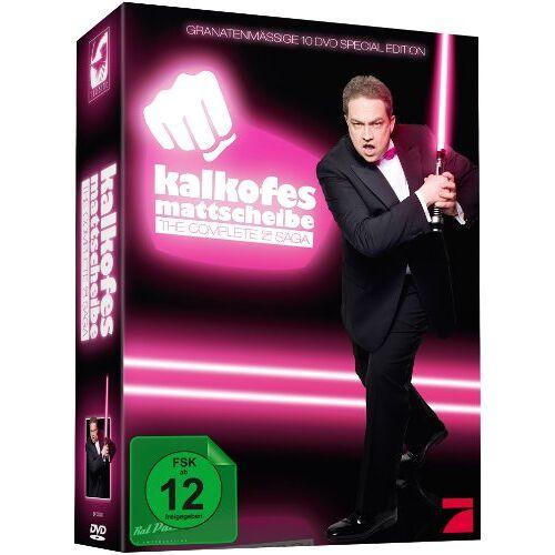 Oliver Kalkofe - Kalkofes Mattscheibe - The Complete ProSieben-Saga [10 DVDs] - Preis vom 06.05.2021 04:54:26 h