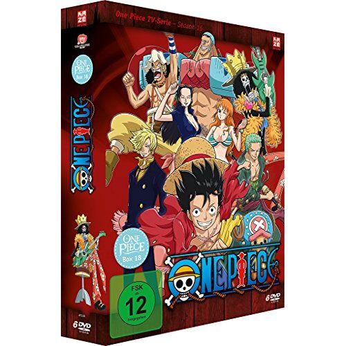 Konosuke Uda - One Piece - Die TV Serie - Box Vol. 18 [6 DVDs] - Preis vom 20.10.2020 04:55:35 h