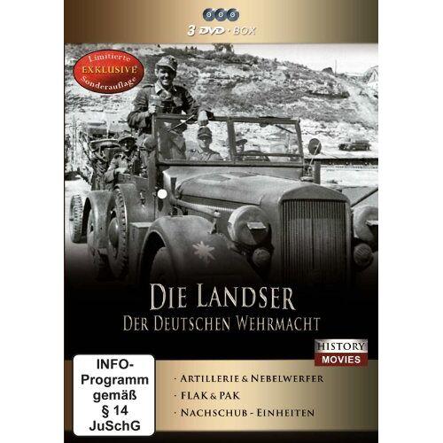 Various - Die Landser der Deutschen Wehrmacht [3 DVDs] - Preis vom 05.05.2021 04:54:13 h