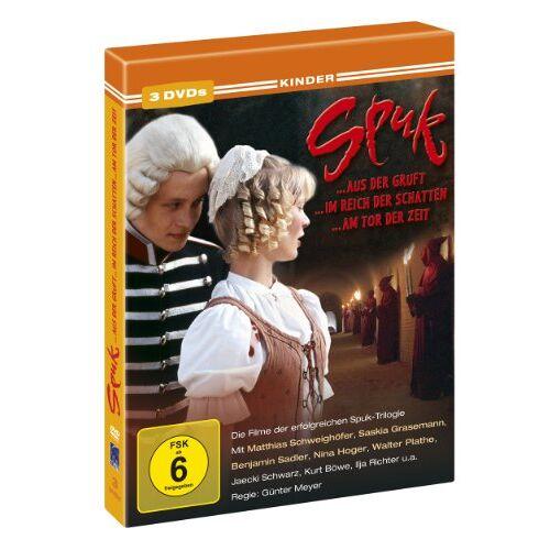 Günter Meyer - Spuk - Trilogie: Spuk aus der Gruft / Spuk im Reich der Schatten / Spuk am Tor der Zeit [3 DVDs] - Preis vom 22.01.2021 05:57:24 h