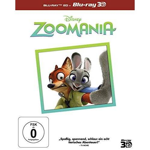 Byron Howard - Zoomania 3D (inkl. 2D Superset) [3D Blu-ray] - Preis vom 04.09.2020 04:54:27 h