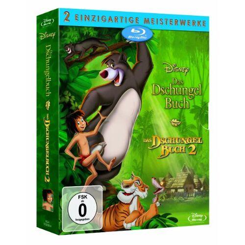 - Das Dschungelbuch / Das Dschungelbuch 2 [Blu-ray] - Preis vom 03.05.2021 04:57:00 h