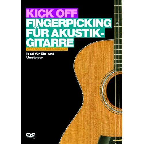 - Kick Off: Fingerpicking für Akustik-Gitarre. Ideal für Ein- und Umsteiger (DVD) - Preis vom 23.01.2021 06:00:26 h