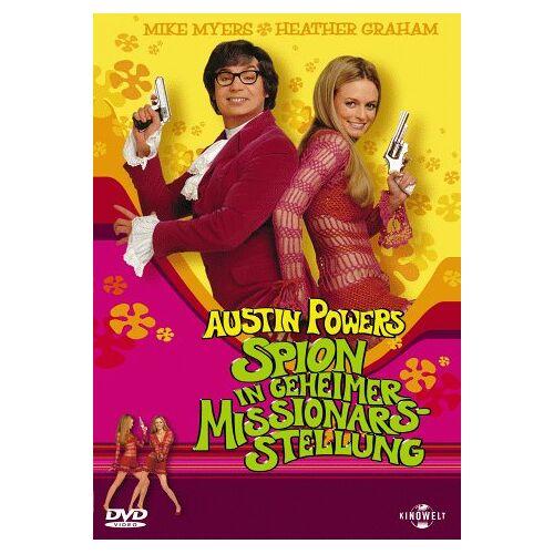 Jay Roach - Austin Powers - Spion in geheimer Missionarsstellung - Preis vom 21.10.2020 04:49:09 h