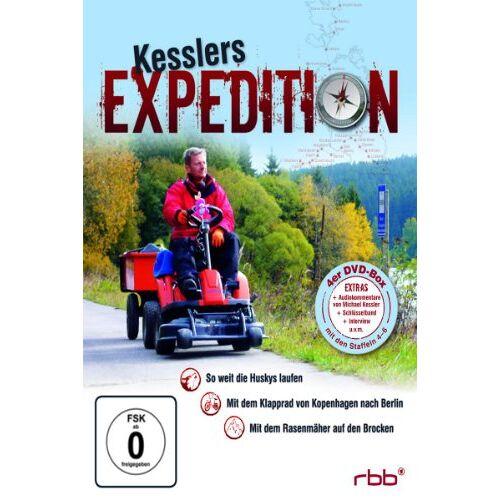 Michael Kessler - Kesslers Expedition, Vol. 2 [4 DVDs] - Preis vom 27.02.2021 06:04:24 h