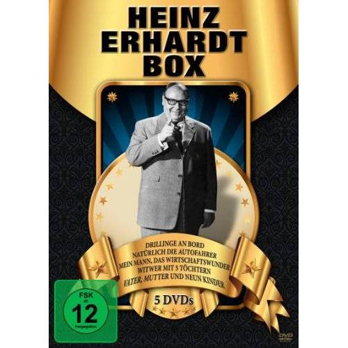 Heinz Erhardt - Heinz Erhardt Box [5 DVDs] - Preis vom 06.09.2020 04:54:28 h