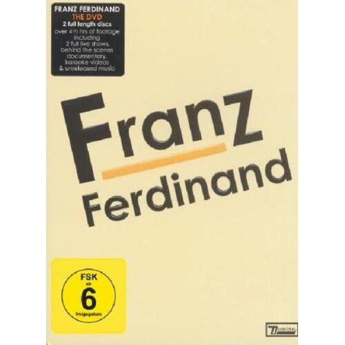 Franz Ferdinand - Franz Ferdinand [2 DVDs] - Preis vom 27.02.2021 06:04:24 h