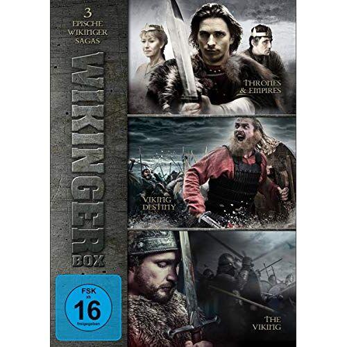 - Wikinger Box - 3 epische Wikinger Sagas [3 DVDs] - Preis vom 16.04.2021 04:54:32 h