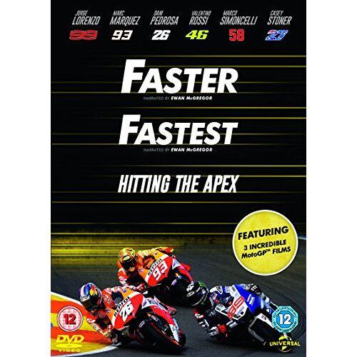 Mark Neale - Faster / Fastest/ Hitting The Apex [DVD] [2015] - Preis vom 06.09.2020 04:54:28 h