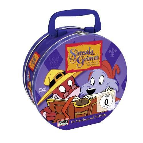 Various - SimsalaGrimm - SimsalaGrimm Tin-Box (5 Discs, Limited Edition ) - Preis vom 13.05.2021 04:51:36 h