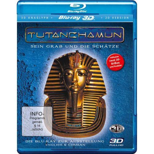 Oliver Krekel - Tutanchamun - Sein Grab und die Schätze 3D (Real 3D + 3D anaglyph inkl. 2 Brillen + 2D-Version [3D Blu-ray] - Preis vom 15.05.2021 04:43:31 h