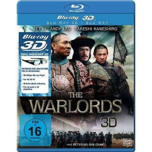Peter Chan - The Warlords 3D (3D Version inkl. 2D Version & 3D Lenticular Card)[3D Blu-ray] - Preis vom 26.01.2021 06:11:22 h