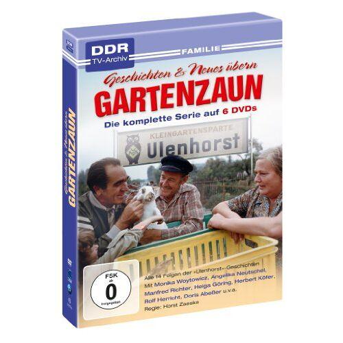 Horst Zaeske - Geschichten & Neues übern Gartenzaun - die komplette Serie (DDR TV-Archiv - 6 DVDs) - Preis vom 23.01.2020 06:02:57 h