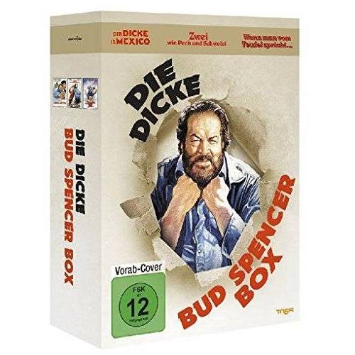 Bud Spencer - Die dicke Bud Spencer Box [3 DVDs] - Preis vom 18.04.2021 04:52:10 h