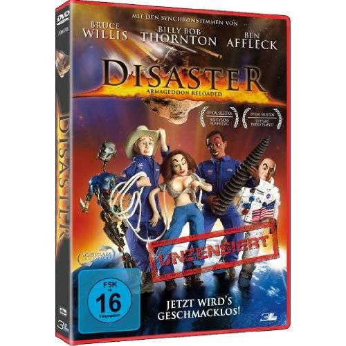Roy T. Wood - Disaster Jetzt wirds geschmacklos (DVD) - Preis vom 15.04.2021 04:51:42 h