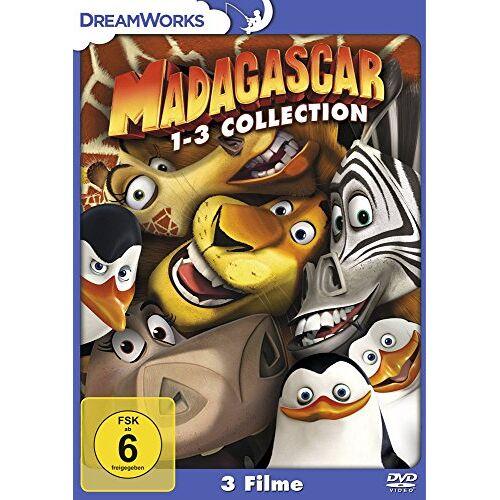 Eric Darnell - Madagascar / Madagascar 2 / Madagascar 3: Flucht durch Europa [3 DVDs] - Preis vom 03.08.2020 04:53:25 h