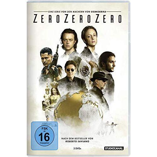 Stefano Solima - ZeroZeroZero - Die komplette Serie [3 DVDs] - Preis vom 20.10.2020 04:55:35 h