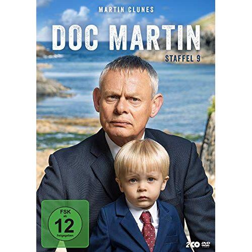 Martin Clunes - Doc Martin - Staffel 9 [2 DVDs] - Preis vom 18.04.2021 04:52:10 h