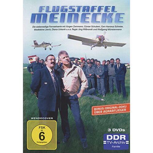 Jörg Wilbrandt - Flugstaffel Meinecke - DDR TV-Archiv [3 DVDs] - Preis vom 07.05.2021 04:52:30 h